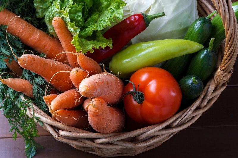 Sådan får du et sundt liv med grønsager